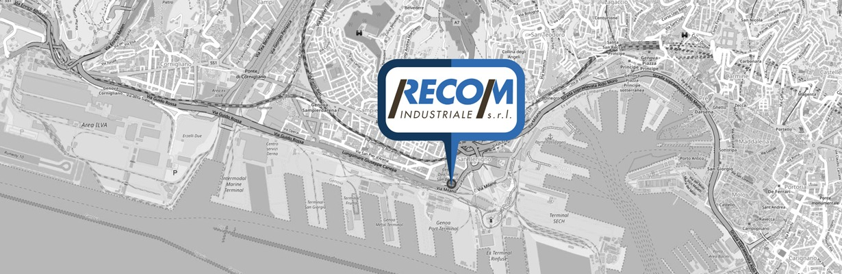 mappa Recom Industriale